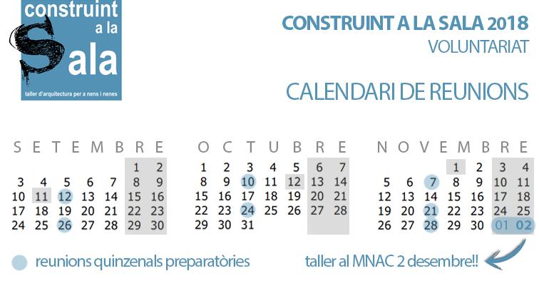 CALAS18 - calendari2018